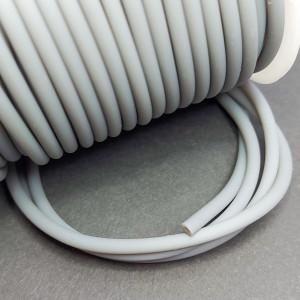 Шнур полый каучуковый синтетический, 3 мм
