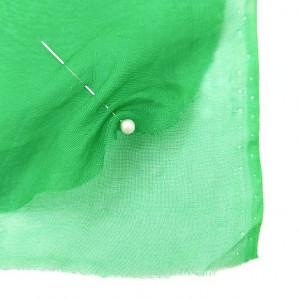 Шелк органза Цвет Зеленый