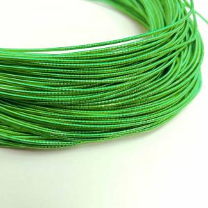 Канитель жесткая 1мм Parrot Green