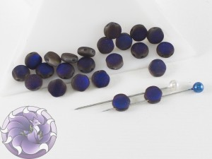 DiscDuo® Beads 6 x 4 mm Crystal Azuro Full Matted