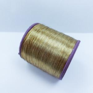 Нитки металлизированные для вышивки индийские Antique gold 005