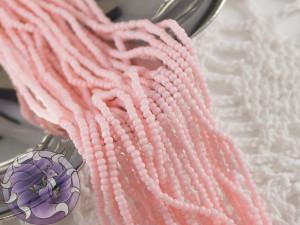 Бисер шарлотка 13/0 на нитке Solgel Light Pink