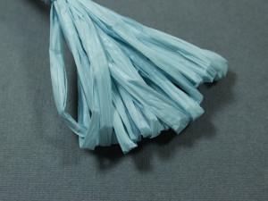 Рафия для вышивки матовая 30мм Sky-blue