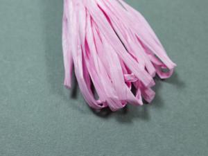 Рафия для вышивки матовая 30мм Pink