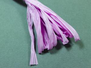 Рафия для вышивки матовая 30мм Цвет Сиреневый