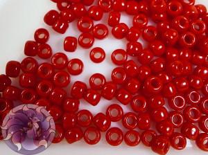 Бисер 5г TOHO Round 8/0 Opaque Pepper Red TR-08-45