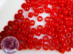 Бисер 5г TOHO Round 8/0 Opaque Cherry TR-08-45A