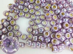 Бисер 5г TOHO Round 8/0 PermaFinish - Galvanized Pale Lilac TR-08-PF579