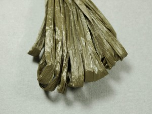 Рафия для вышивки матовая 30мм Цвет Мокко