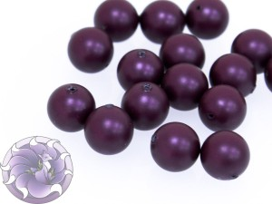 Swarovski 5810 Round Pearl Beads- Elderberry Pearl 2мм, 4мм, 6мм, 8мм