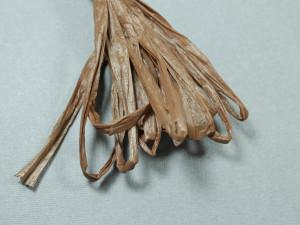 Рафия для вышивки матовая 30мм Цвет Шоколадный