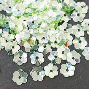Пайетки фигурные, 5г, Цветок 5мм, 5114