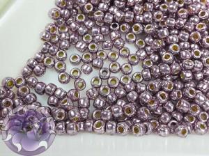 Бисер 5г TOHO Round 11/0 PermaFinish - Galvanized Pale Lilac TR-11-PF579