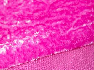 Шелковый бархат натуральный ручного окрашивания Цвет Фуксия
