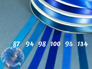 Лента атласная 12 мм Синяя палитра
