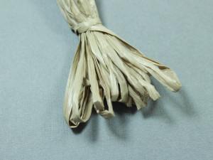 Рафия для вышивки матовая 30мм Цвет Темно-бежевый