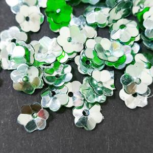 Пайетки фигурные, 5г, Цветок 5мм, 5115