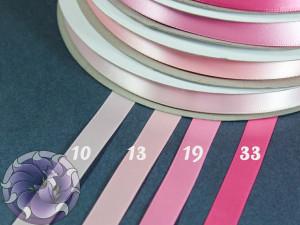 Лента атласная 12 мм Розовая палитра