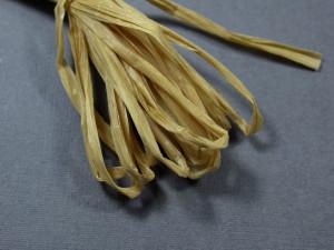 Рафия для вышивки матовая 30мм Цвет Песочный