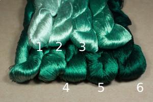 Шелковые нитки для вышивки, мулине шелк №5