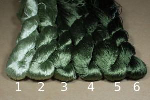 Шелковые нитки для вышивки, мулине шелк №15