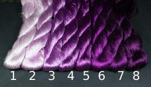 Шелковые нитки для вышивки, мулине шелк №28
