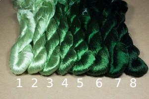 Шелковые нитки для вышивки, мулине шелк №31