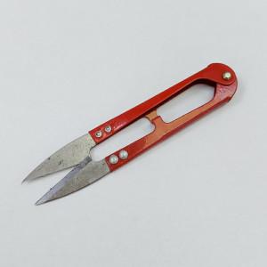 Ножницы швейные для обрезки нитей, металлические, 11 см длинна