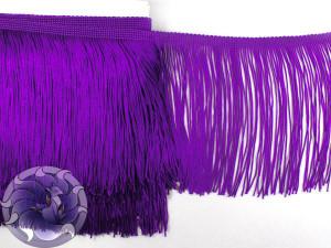 Тесьма бахрома 15см Фиолетовый