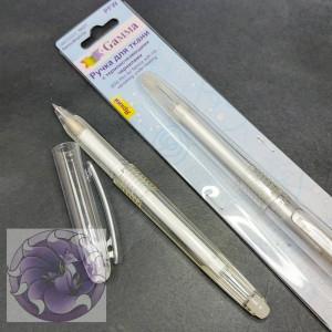 Ручка для ткани Gamma с самоисчезающими чернилами белая