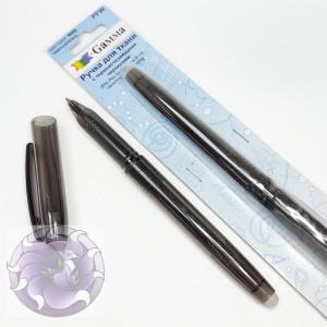 Ручка для ткани Gamma с самоисчезающими чернилами черная