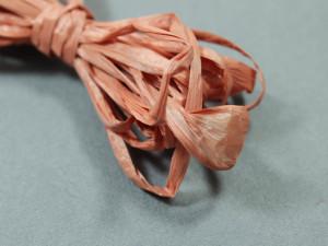 Рафия для вышивки матовая 30мм Цвет Терракотовый