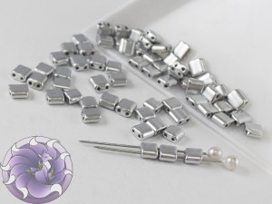 KARO 5x5mm Silver Metallic