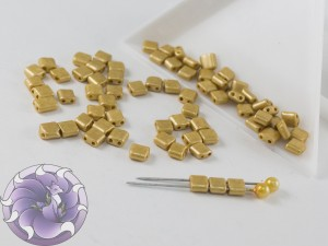 KARO 5x5mm Gold Metallic