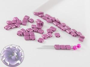 KARO 5x5mm Opaque Pink Chalk Metallic Dyed