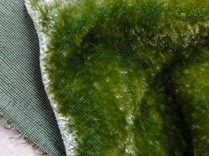 Шелковый бархат натуральный ручного окрашивания Цвет Темно оливковый
