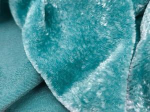 Шелковый бархат натуральный ручного окрашивания Цвет мох