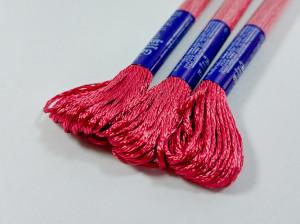 Мулине Gamma вискоза 8м Цвет Красный 19