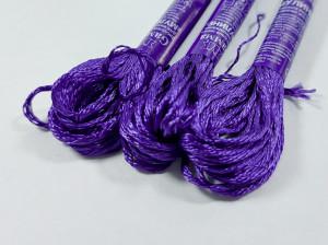 Мулине Gamma вискоза 8м Цвет Фиолетовый 33