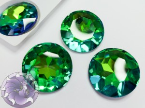 Кристалл стекло круглый 27мм К9 Цвет Sphinks