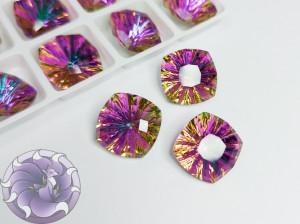 Кристалл квадрат Millennium Стекло 14мм К9 Цвет Heliotrope