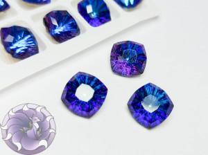 Кристалл квадрат Millennium Стекло 10мм К9 Цвет Bermuda Blue