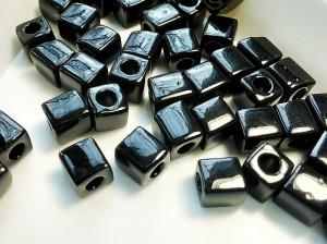 Бисер кубики 4мм 5г Miyuki Square Bead Цвет Black