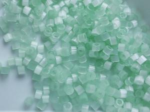 Бисер 5г DB0828 11/0 Miyuki Delica Цвет Mint Green Silk Satin