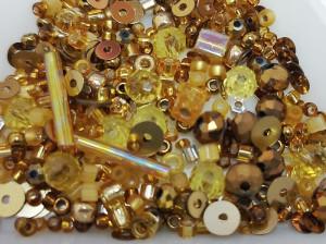 Мульти микс материалов 5г Цвет Античное золото 04