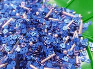 Мульти микс материалов 5г Цвет Сине лиловый