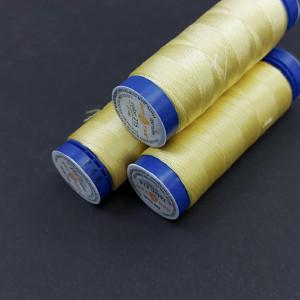 Нить для бисероплетения 188м Dortak №215 Светло-желтый