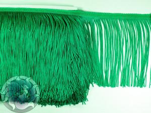 Тесьма бахрома 15см Зеленый