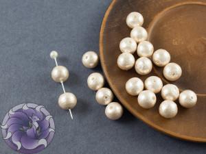 Хлопковый жемчуг Cotton Pearls 8mm Pink Japan