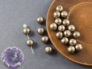 Хлопковый жемчуг Cotton Pearls 8mm Bronze Japan